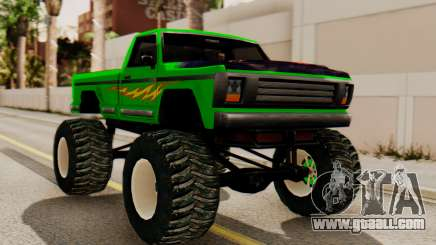 Monster New Texture for GTA San Andreas