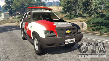 Chevrolet Blazer Sao Paulo State Police for GTA 5