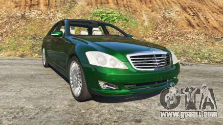 Mercedes-Benz S500 W221 v0.3.1 [Alpha] for GTA 5