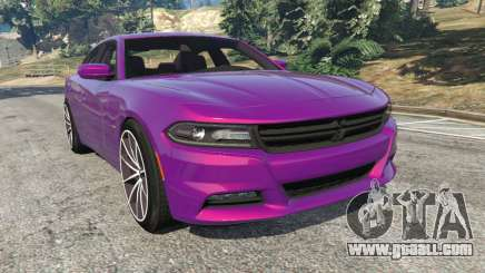 Dodge Charger RT 2015 v1.1 for GTA 5