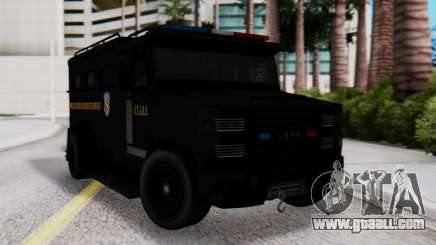 GTA 5 Enforcer Raccoon City Police Type 2 for GTA San Andreas