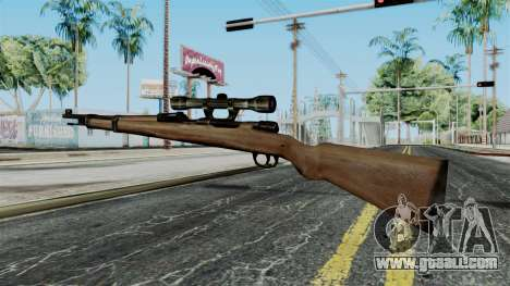 Kar98k Scope from Battlefield 1942 for GTA San Andreas second screenshot