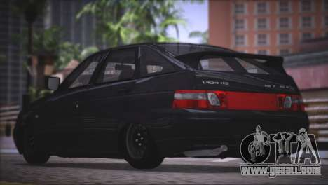 VAZ 2112 Quality items for GTA San Andreas inner view