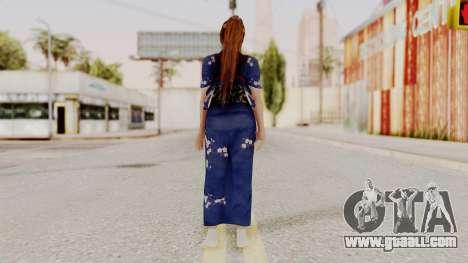 DOA 5 Kasumi Kimono for GTA San Andreas third screenshot