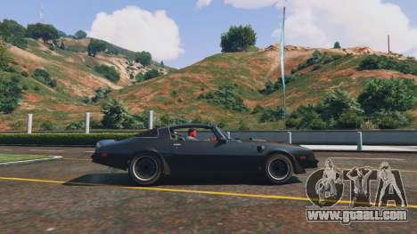 Pontiac Trans Am 1977 for GTA 5