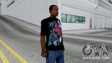 Shirt from Jeff Hardy v2 for GTA San Andreas third screenshot