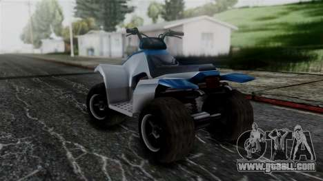 Updated Quad for GTA San Andreas back left view