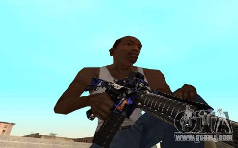 M4 c cub for GTA San Andreas second screenshot