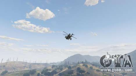 AH-64D Longbow Apache for GTA 5