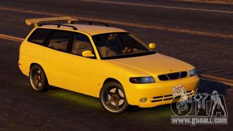 Daewoo Nubira I Wagon US 1999 - FINAL version for GTA 5