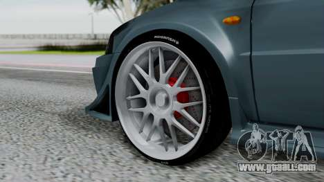 Mitsubishi Lancer Evolution Turbo for GTA San Andreas back left view