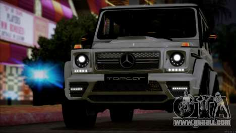 Mercedes Benz G65 AMG 2015 Topcar Tuning for GTA San Andreas side view