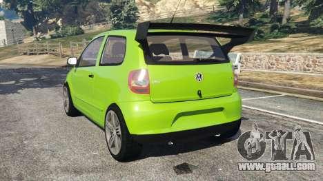 GTA 5 Volkswagen Fox rear left side view