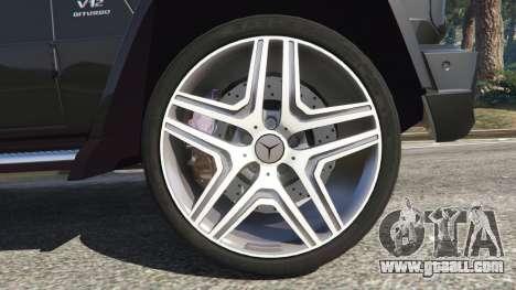 GTA 5 Mercedes-Benz G65 AMG v0.1 [Alpha] rear right side view