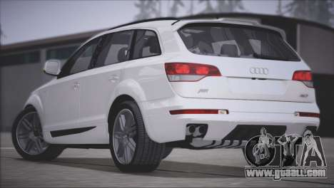 Audi Q7 2008 for GTA San Andreas back view