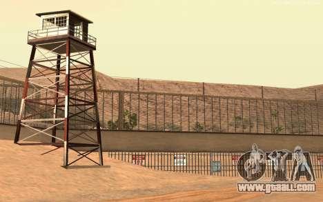 New Military Base v1.0 for GTA San Andreas