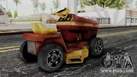 Mower from Bully for GTA San Andreas left view