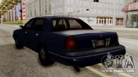 Ford Crown Victoria LP v2 Civil for GTA San Andreas left view