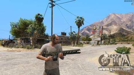 GTA 5 The railgun from Battlefield 4