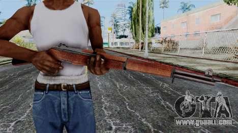 M1 Garand from Battlefield 1942 for GTA San Andreas third screenshot