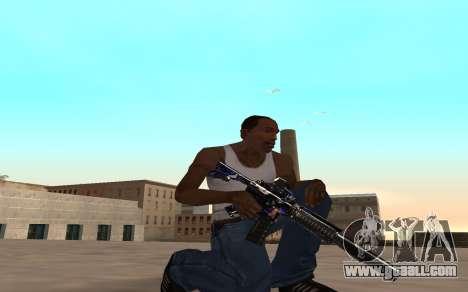 M4 c cub for GTA San Andreas