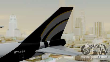 Boeing 747 Southern Air for GTA San Andreas back left view