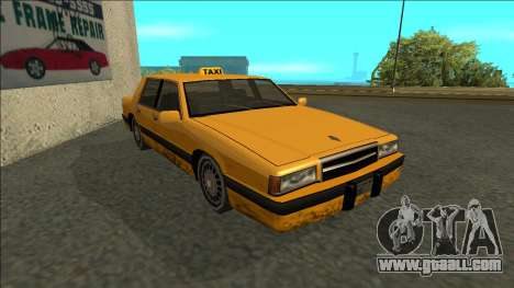 Willard Taxi for GTA San Andreas left view