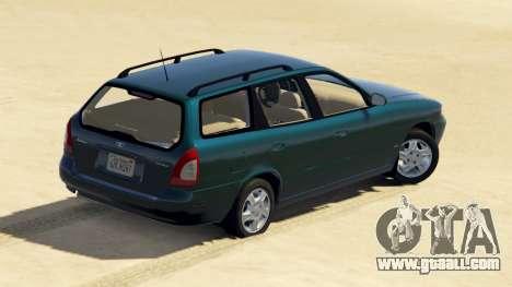 GTA 5 Daewoo Nubira I Wagon US 1999 - FINAL version back view