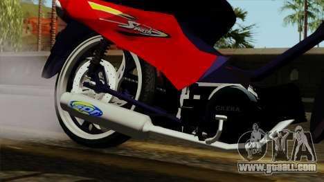 Gilera Smash for GTA San Andreas right view