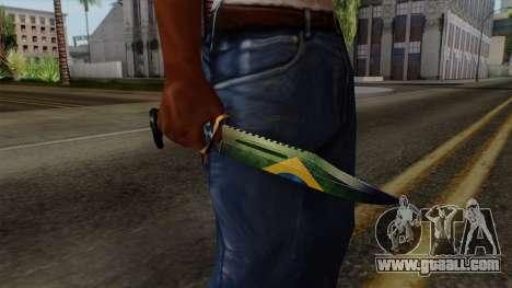 Brasileiro Knife v2 for GTA San Andreas third screenshot