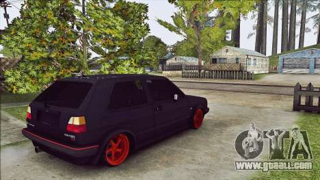 Volkswagen Golf Mk2 Line for GTA San Andreas right view