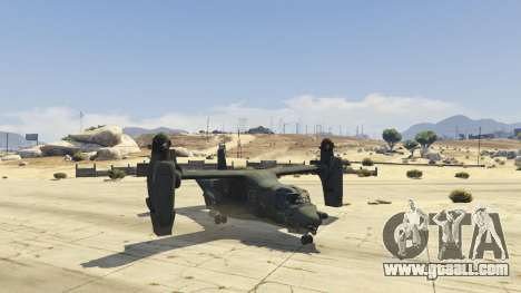 GTA 5 CV-22B Osprey (VTOL) fourth screenshot