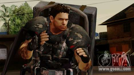 Chris Heavy Metal for GTA San Andreas