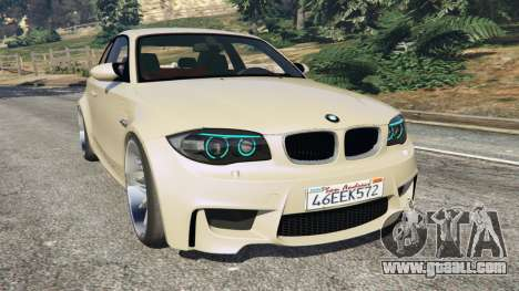 BMW 1M v1.1 for GTA 5