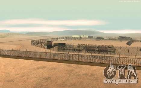 New Military Base v1.0 for GTA San Andreas second screenshot