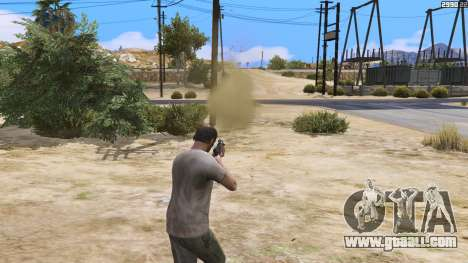 GTA 5 Increased effects of hits