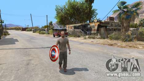 GTA 5 Shield Captain America second screenshot