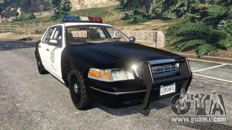 Ford Crown Victoria 1999 Police v1.0 for GTA 5