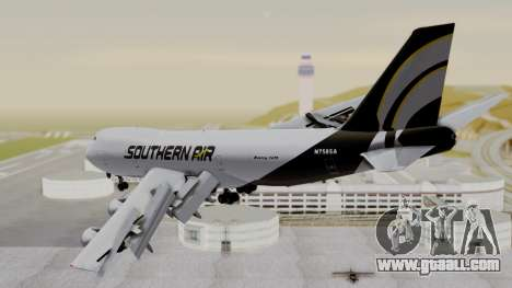Boeing 747 Southern Air for GTA San Andreas left view