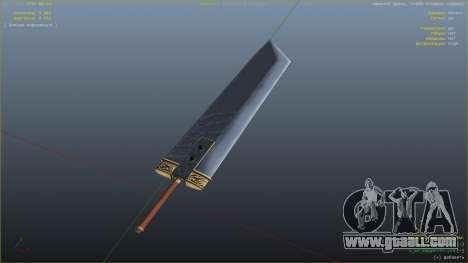 GTA 5 Buster Sword fourth screenshot