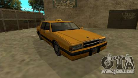 Willard Taxi for GTA San Andreas back view
