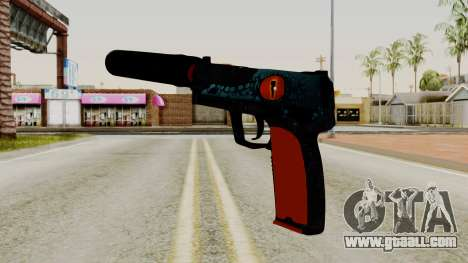 USP-S Caiman for GTA San Andreas second screenshot