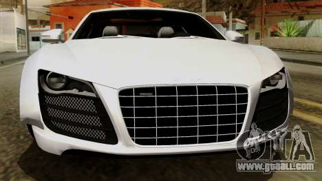 Audi R8 v1.0 Edition Liberty Walk for GTA San Andreas upper view