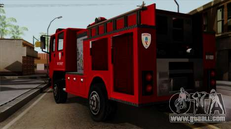 DFT-30 Tokyo Fire Department Pumper for GTA San Andreas left view
