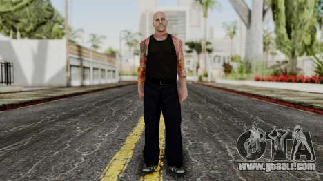 Alice Baker Old Member without Glasses for GTA San Andreas