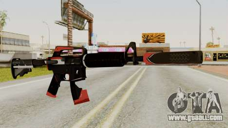 M4A1-S Cyrex for GTA San Andreas