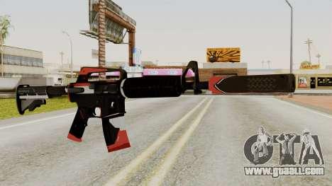 M4A1-S Cyrex for GTA San Andreas