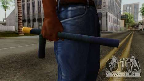 Brasileiro Night Stick v2 for GTA San Andreas third screenshot