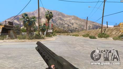 GTA 5 The railgun from Battlefield 4 third screenshot