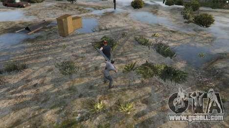 GTA 5 Buster Sword third screenshot